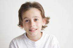 мальчик радостный Стоковое фото RF