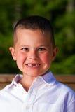 мальчик смешной Стоковое фото RF