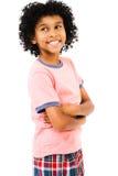 мальчик стоя молода Стоковые Фото