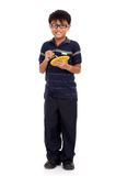 мальчик стоя молод Стоковое Фото