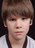 мальчик сумашедший Стоковое Изображение RF