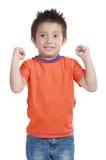 мальчик счастливый немногая молодое Стоковые Фото