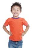 мальчик счастливый немногая молодое Стоковая Фотография