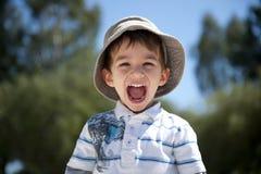 мальчик счастливый Стоковые Фото