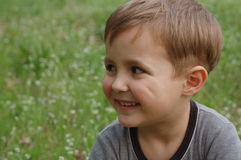 мальчик счастливый Стоковые Фотографии RF