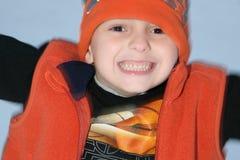 мальчик счастливый Стоковая Фотография