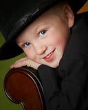 мальчик удачливейший Стоковая Фотография RF
