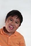 мальчик холодный Стоковые Фотографии RF