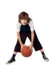 мальчик шарика Стоковые Фотографии RF