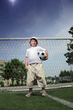 мальчик шарика Стоковое Фото