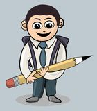 Мальчик школы Стоковое фото RF