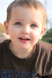 мальчик 03 меньший портрет Стоковые Изображения