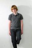 мальчик 33 предназначенный для подростков Стоковое Фото