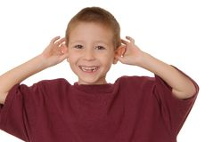 мальчик 4 драматический стоковое фото