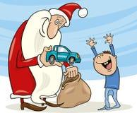 мальчик claus маленький santa бесплатная иллюстрация