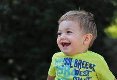 мальчик happly немногая Стоковые Фотографии RF