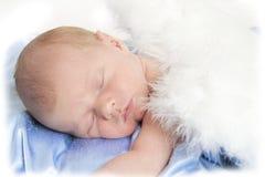 мальчик newborn Стоковая Фотография