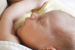 мальчик newborn Стоковое Фото