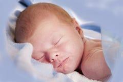 мальчик newborn Стоковые Изображения RF