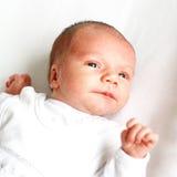 мальчик newborn стоковое фото rf