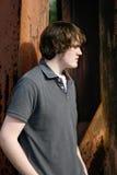 мальчик outdoors предназначенный для подростков Стоковая Фотография RF