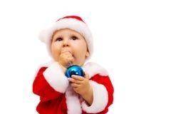 Мальчик Santa Claus. Портрет. Стоковые Фотографии RF