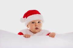 Мальчик Santa Claus. Портрет. Стоковая Фотография RF