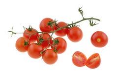 малюсенькие томаты Стоковые Изображения