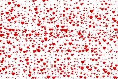 малюсенькое сердец красное Стоковое фото RF