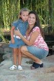 мама дочи Стоковая Фотография