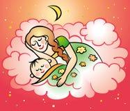 Мама и младенец Стоковое Фото