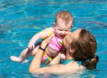 Мама и младенец стоковая фотография rf