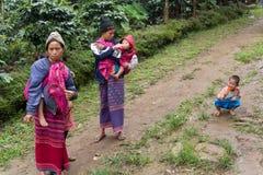 Мама Карена в Таиланде Стоковое Изображение