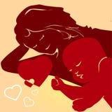 мама младенца Стоковые Фотографии RF