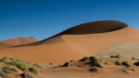 Мама песчанной дюны большая на Sossusvlei Стоковое Изображение RF