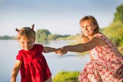 Мама с младенцем Стоковая Фотография