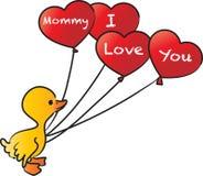Мама я тебя люблю Стоковые Изображения