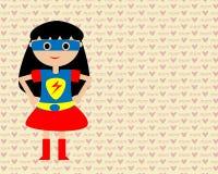 Мама supermom Стоковое Изображение