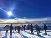 мамонтовая гора стоковая фотография rf