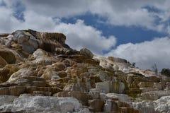 Мамонтовая терраса Стоковое Фото