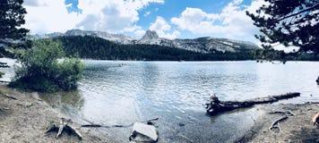 Мамонтовые озера стоковое фото rf