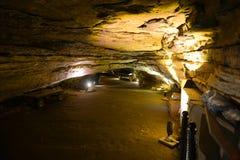 Мамонтовый национальный парк пещеры, США стоковое изображение