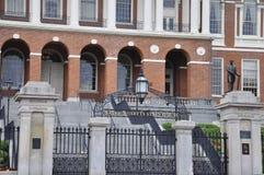 Мамы Бостона, 30-ое июня: Заявите дом входа Massachusettes от Бостона в США Стоковая Фотография RF