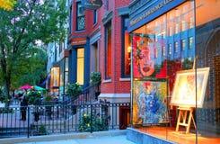 МАМЫ Бостона штольн искусство Мерилин Монро Стоковое Изображение