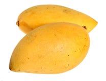 мангоы над тайской белизной Стоковое Изображение RF