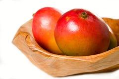 мангоы шара деревянные Стоковое Изображение
