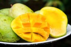 манго зрелый Стоковое Фото