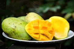 манго зрелый Стоковые Изображения RF