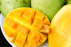манго зрелый Стоковое фото RF