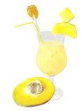 манго коктеила Стоковая Фотография RF